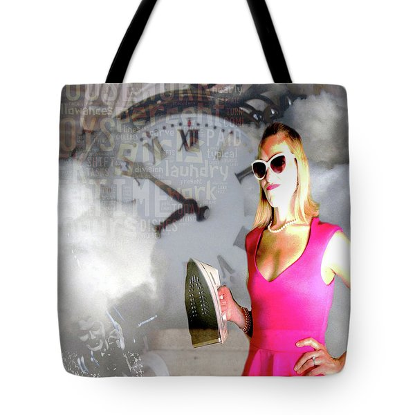 Domestic Considerations Drama Tote Bag by Ann Tracy