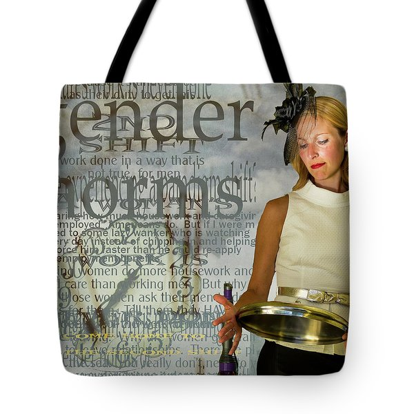 Domestic Considerations  Gender Norms Tote Bag