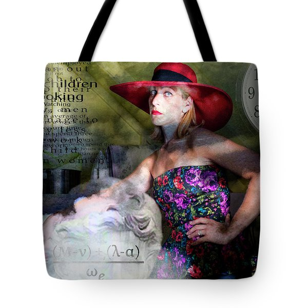 Domestic Considerations Kronos' Daughter Tote Bag by Ann Tracy