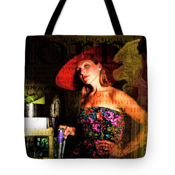 Domestic Considerations O Yeah? Tote Bag by Ann Tracy