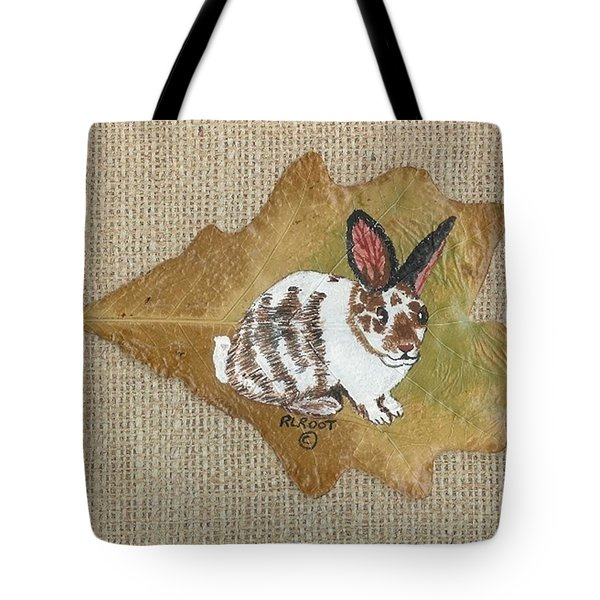 domestic Rabbit Tote Bag
