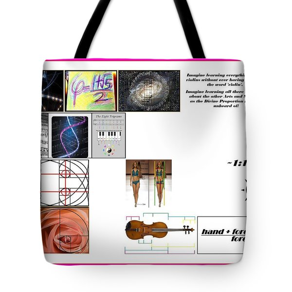Domestic Violins Tote Bag