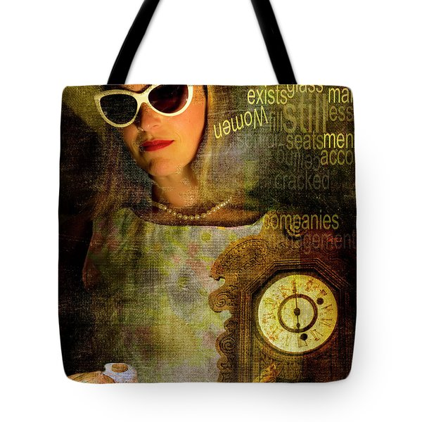 Domesticf Considerations Glass Ceiling Tote Bag by Ann Tracy