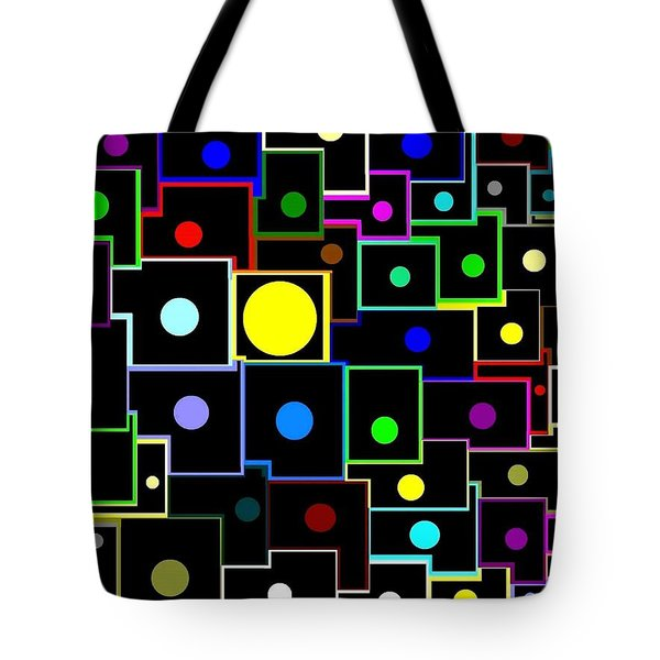 Domino Effect  Tote Bag by Will Borden