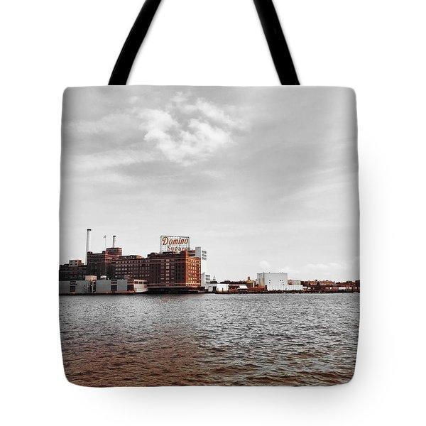 Domino Sugar Tote Bag