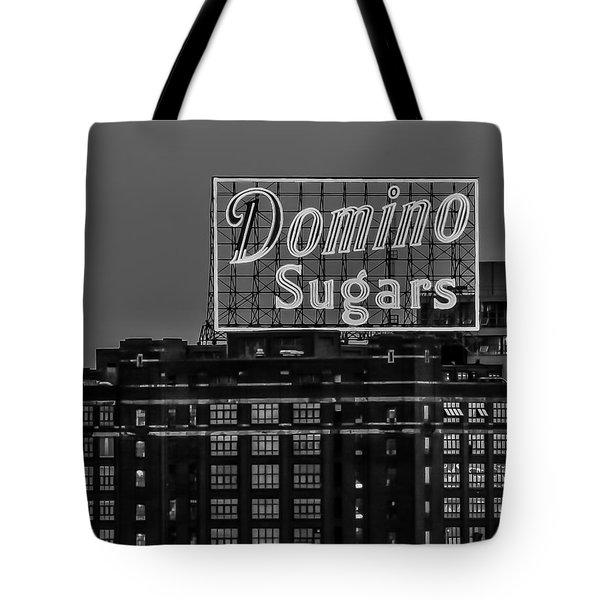 Domino Sugars Sign Tote Bag