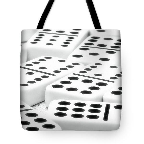 Dominoes I Tote Bag by Tom Mc Nemar