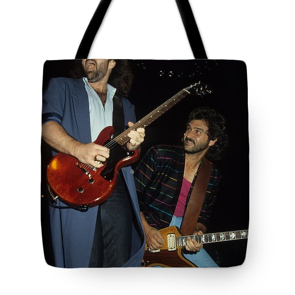 Don Barnes And Jeff Carlisi Of 38 Special Tote Bag