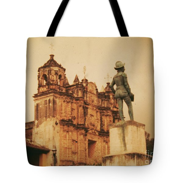 Tote Bag featuring the photograph Don Quixote  by Charles McKelroy