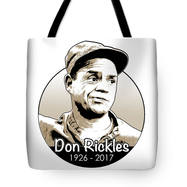Don Rickles Tote Bag