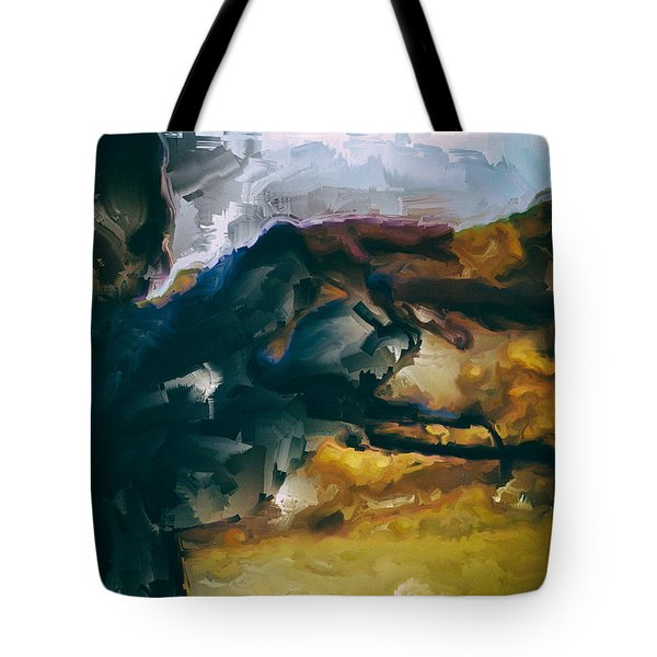 Donald Rumsfeld Gwot Vision Tote Bag by Brian Reaves