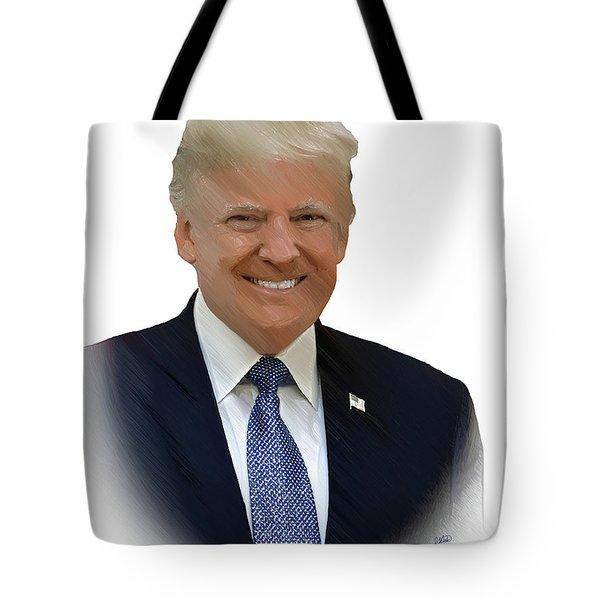 Donald Trump - Dwp0080231 Tote Bag