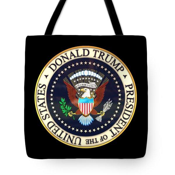 Donald Trump President Seal Tote Bag