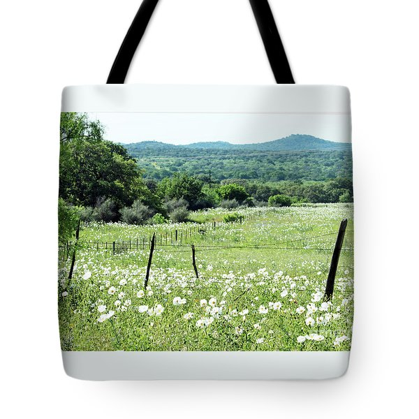Tote Bag featuring the photograph Done In White by Joe Jake Pratt