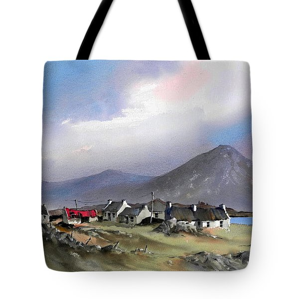 Galway..storm Over The Diamond Hill Tote Bag
