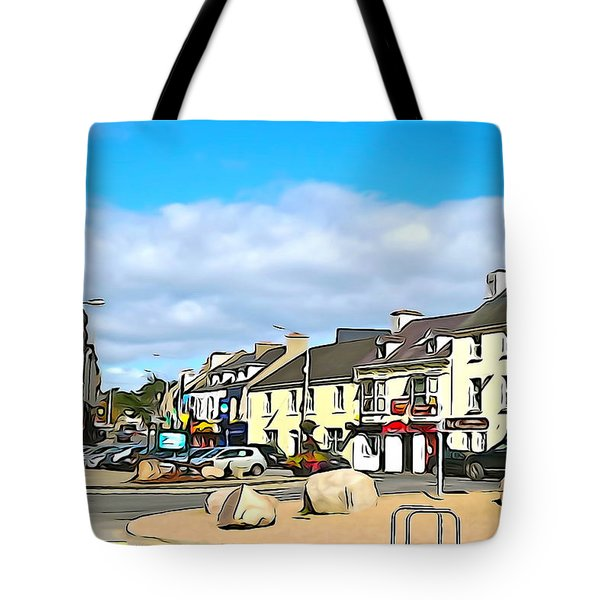 Donegal Town Tote Bag by Charlie and Norma Brock