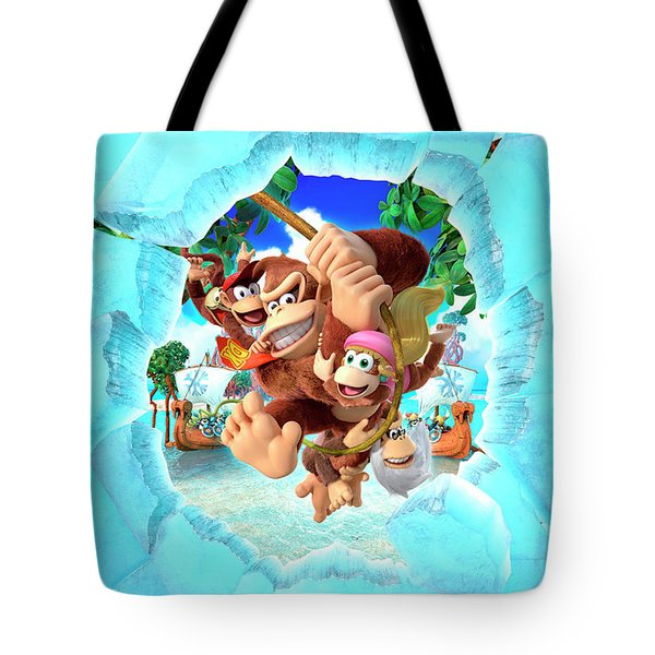 Donkey Kong Country Tropical Freeze Tote Bag