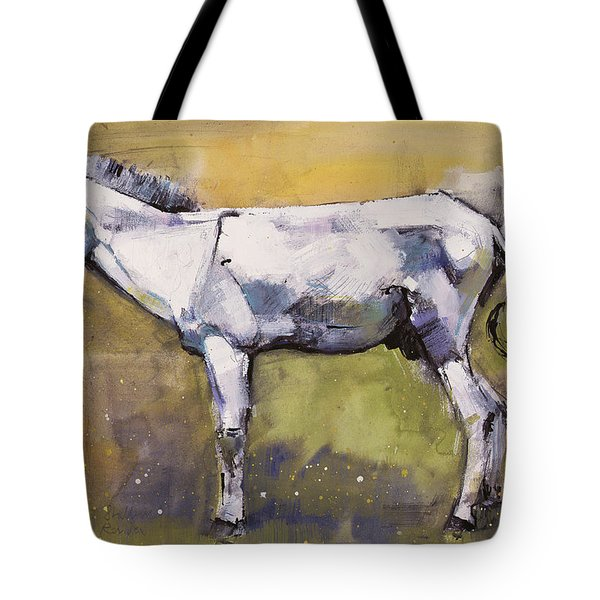Donkey Stallion, Ronda Tote Bag by Mark Adlington