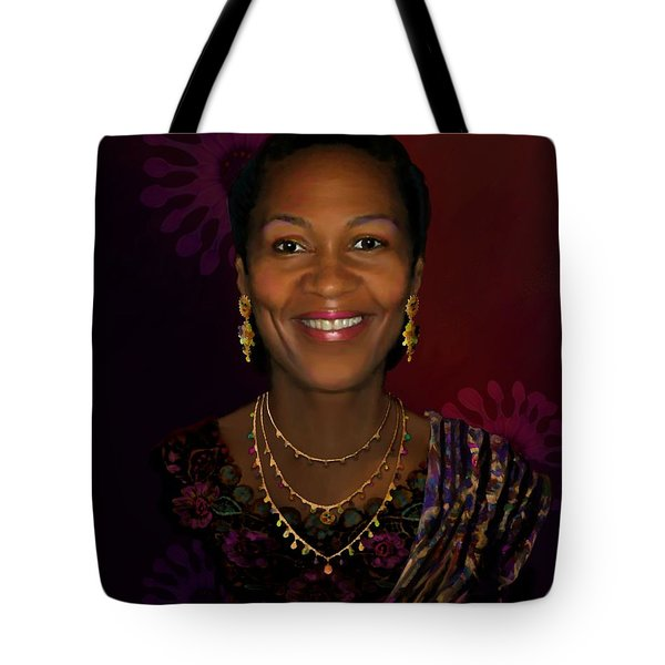 Donna Houston Tote Bag by Jann Paxton