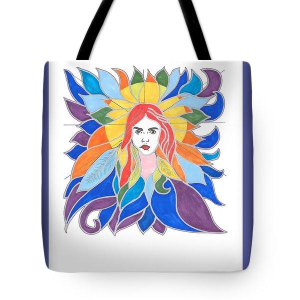 Donna Soul Portrait Tote Bag