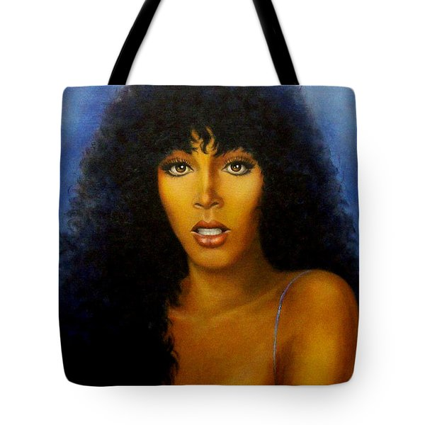 Donna Summers Tote Bag