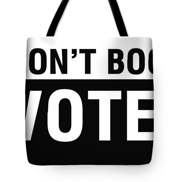 Don't Boo Vote- Art By Linda Woods Tote Bag