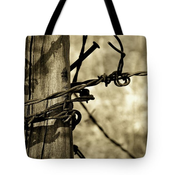 Don't Fence Me In 2 Tote Bag