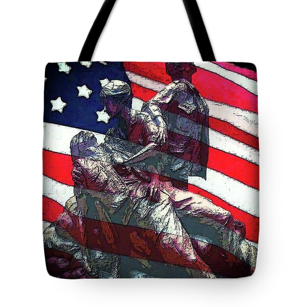 Don't Forget Our Nurses Tote Bag