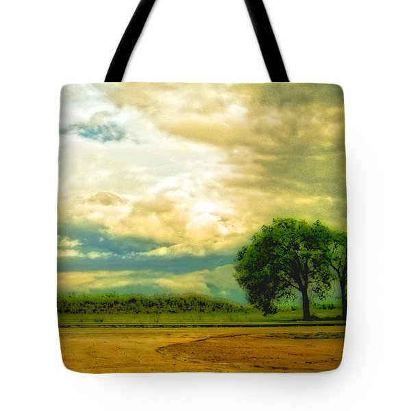 Don't Know Why There's No Sun Up In The Sky Tote Bag