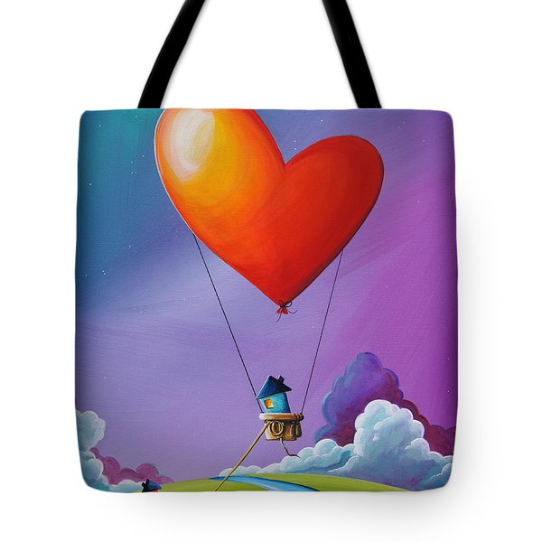 Don't Let Love Slip Away Tote Bag