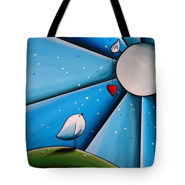 Don't Let The Stars Get In Your Eyes Tote Bag