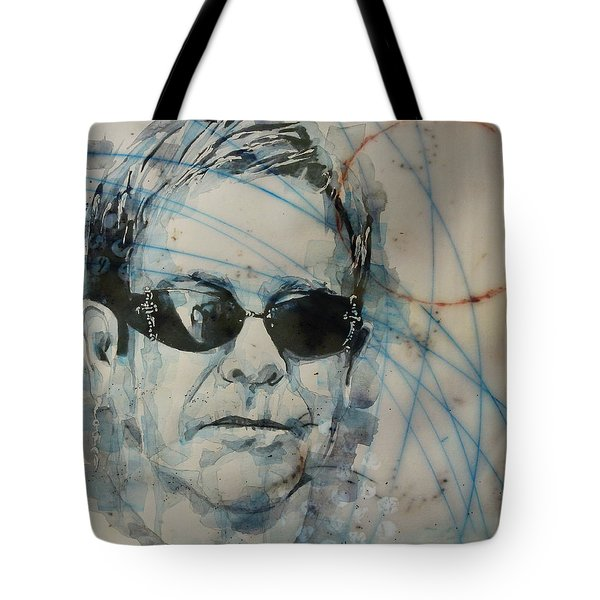 Don't Let The Sun Go Down On Me  Tote Bag by Paul Lovering