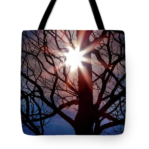 Tote Bag featuring the photograph Don't Lose Sight Of It All by Karen Wiles