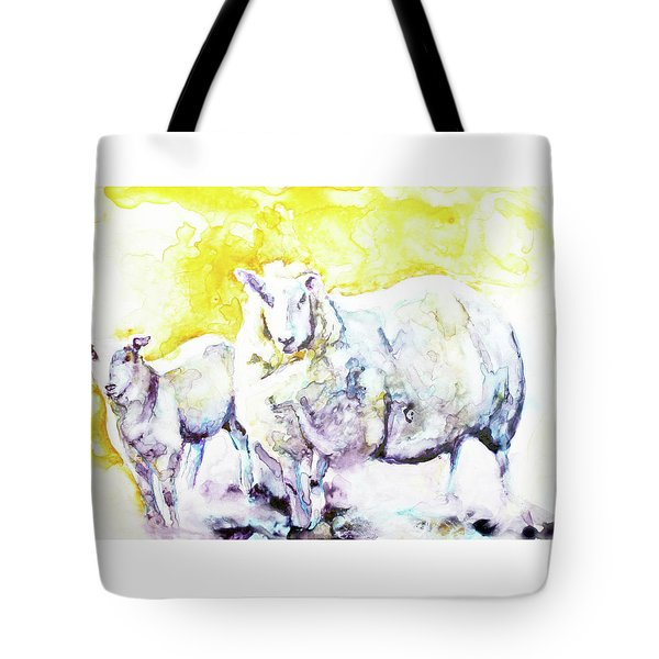 Don't Mess With My Lamb Tote Bag