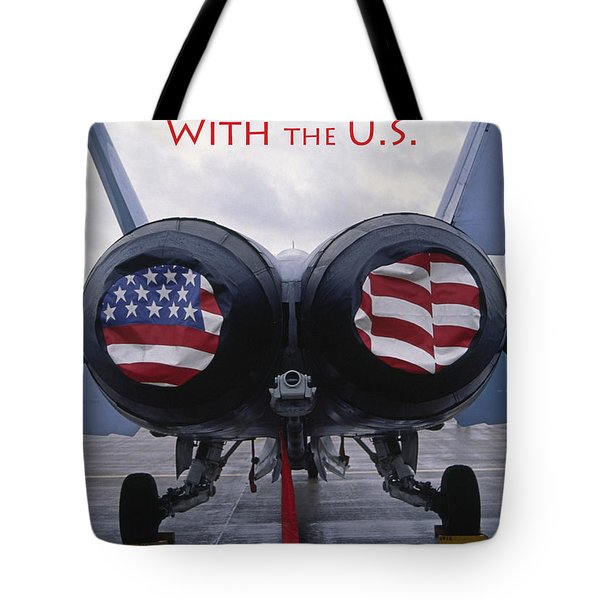 Don't Mess With The U. S. Tote Bag