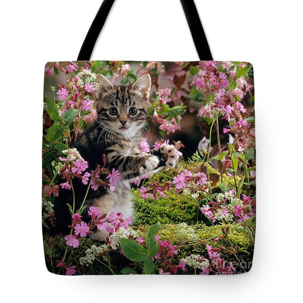 Don't Pick The Flowers Tote Bag