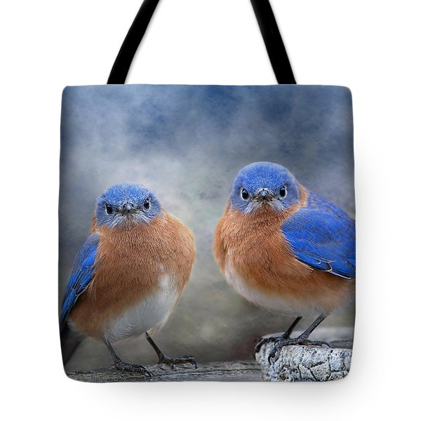 Don't Ruffle My Feathers Tote Bag