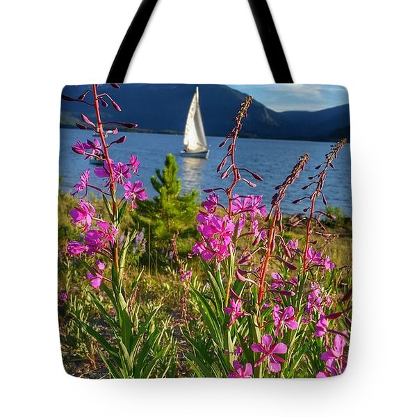 Don't Rush A Good Thing Tote Bag by Fiona Kennard