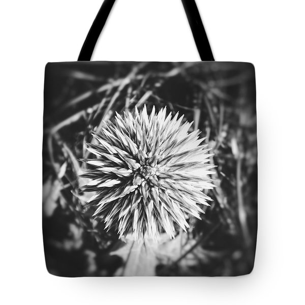 Tote Bag featuring the photograph Don't Touch Me by Karen Stahlros