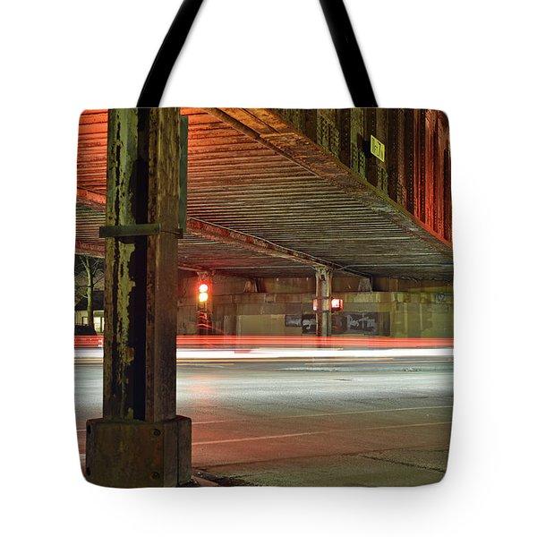 Don't Walk Tote Bag