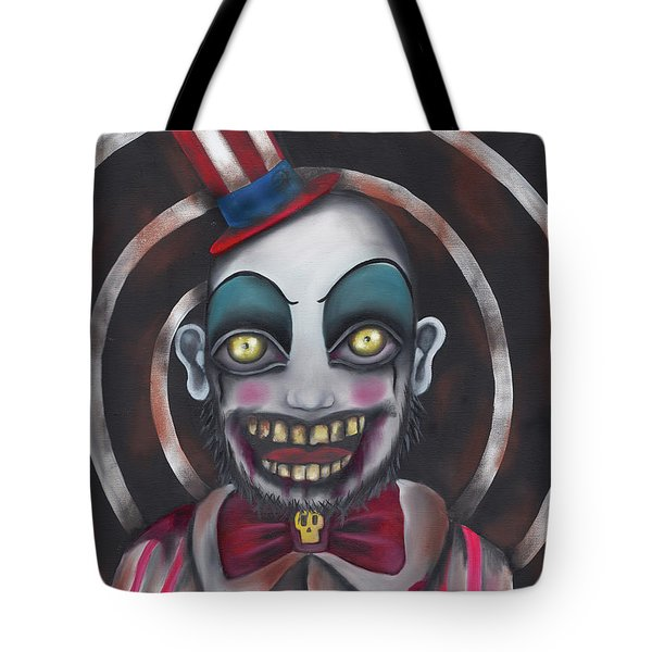 Don't You Like Clowns?  Tote Bag by Abril Andrade Griffith