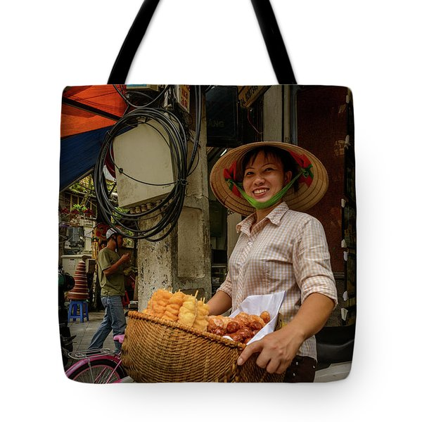 Donut Seller Tote Bag