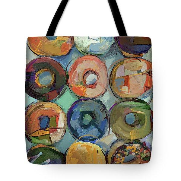 Donuts Galore Tote Bag