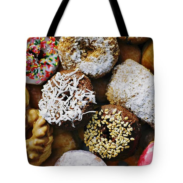 Donuts Tote Bag by Vivian Krug Cotton
