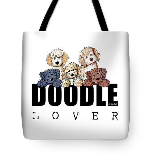 Doodle Lover Tote Bag by Kim Niles