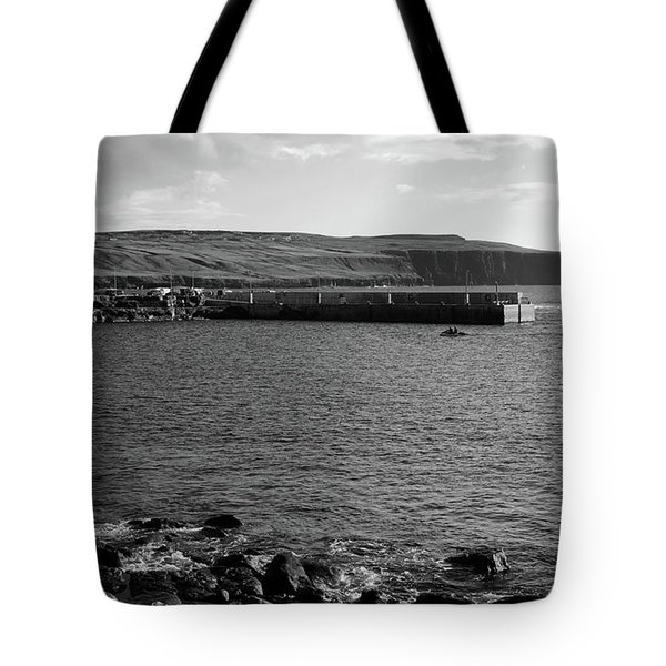Doolin Harbour Tote Bag