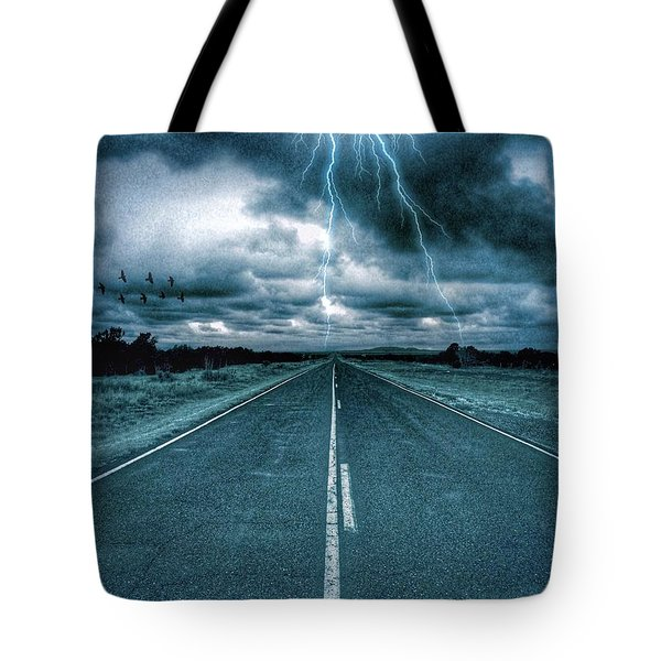Doomsday Road Tote Bag