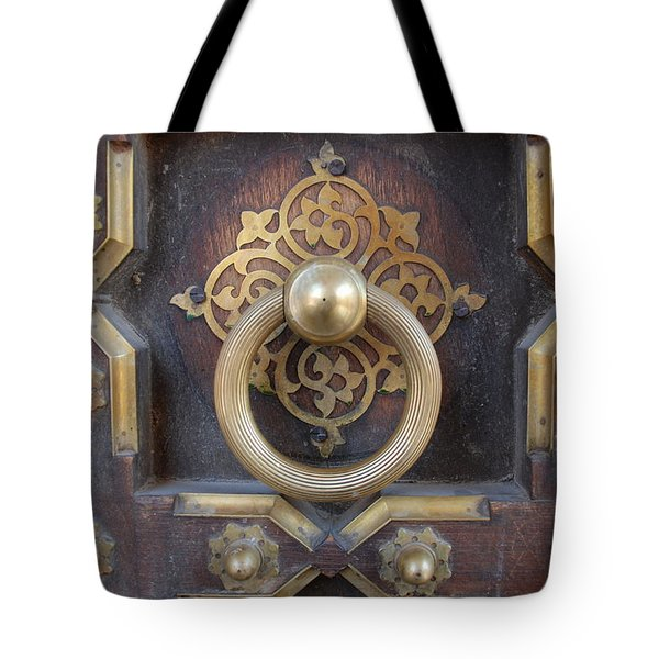 Door Artwork Closeup Tote Bag
