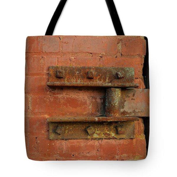 Door Hinge Tote Bag