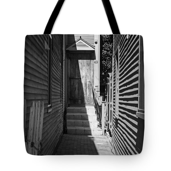 Door In An Alley Tote Bag